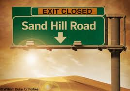 sand hill road closed
